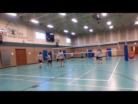 MS Girls Volleyball Match - Lititz Christian School @ LAMS