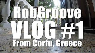 RobGroove Corfu Winter Vlog 1