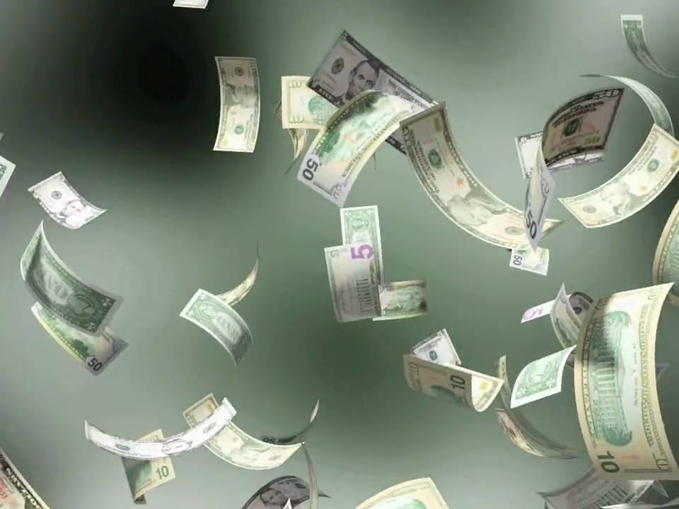Money Falling Wallpaper Falling Money Mov Youtube