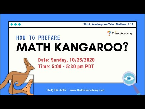 【Think Academy】How To Prepare For Math Kangaroo - Candy