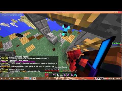  Minecraft SkyPvP Episodul 2 w/Repha Am murit . 