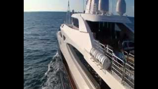 Luxury SuperYacht - CRN 60m M/Y BlueEyes of London ex Blue Eyes