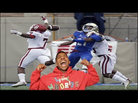 The Best College Football Player!!! B Football Highlights-Reaction
