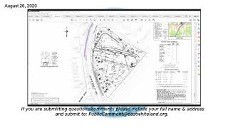 August 26 2020 East Whiteland Planning Commission