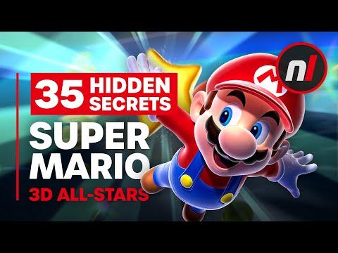 35 Hidden Secrets & Exploits in Super Mario 3D All-Stars (64, Sunshine, Galaxy)