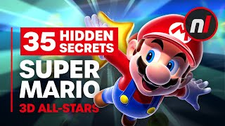 35 Hidden Secrets & Exploits in Super Mario 3D All-Stars (64, Sunshine, Galaxy)