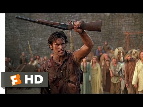 This Is My Boomstick!  Army of Darkness 210 Movie  1992 HD