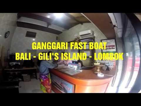 Fast Boat Bali Lombok Gili Island