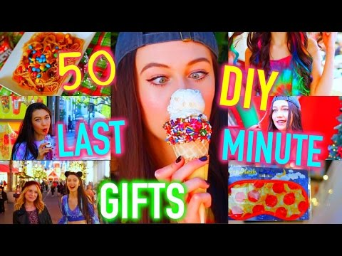 50 DIY LAST MINUTE GIFT IDEAS + Giveaway