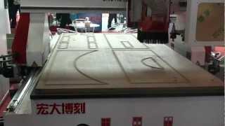 Hongda Boke Cnc Process Center Skm25 For Wood Door.mts