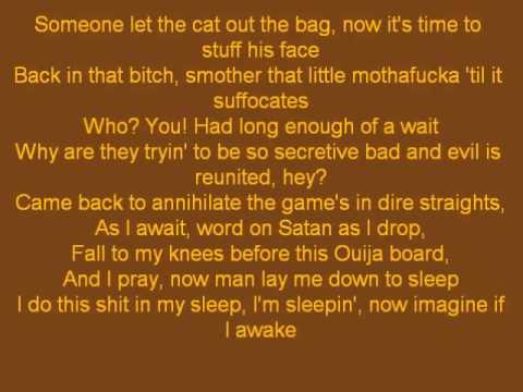 Bad Meets Evil - Above The Law (Lyrics)