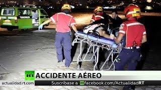 Una avioneta del equipo de Red Bull se estrella en Guatemala