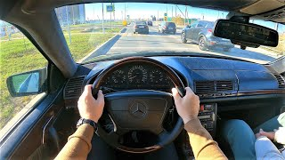 1996 Mercedes-Benz S 500 - POV Test Drive