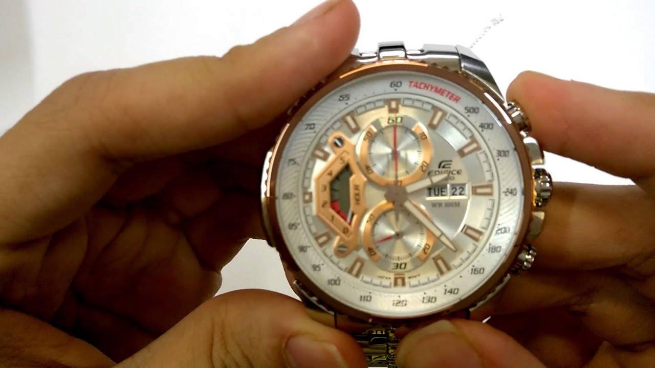 Ef558d2av Ef558d Casio Collection Edifice Mens Chronograph Watch Ef 543d 2av Item 5 Efr 539d 1a2vuef Blue Silver Rrp 160