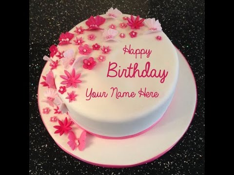 Birthday Cake Image Write