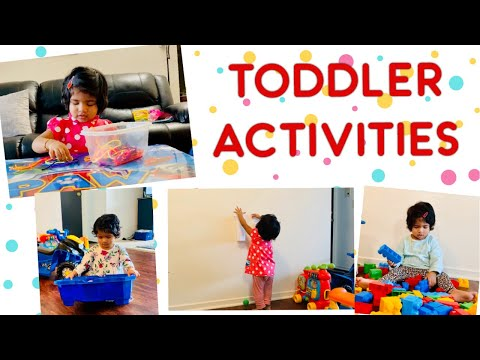 TODDLER INDOOR ACTIVITIES | Us Express Bindu Vlogs