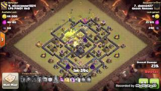Clash Of Clans Greek Arrows VS LP6 PINOY Ak0 WAR RECAP