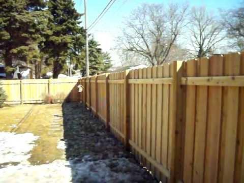 Northland Fence Cedar Batten Board Privacy Robbinsdale Mn