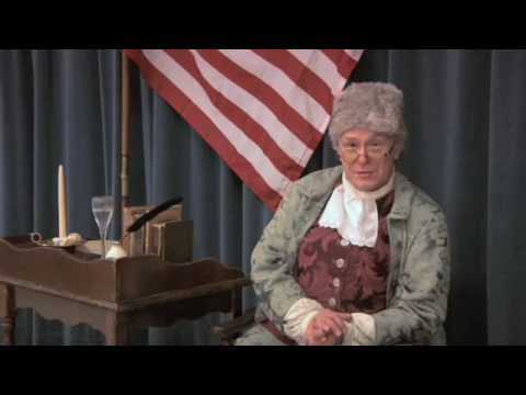 Benjamin Franklin Interview Part 1 of 3