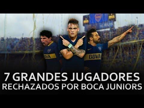 7 Grandes Jugadores rechazados por Boca Juniors en inferiores