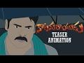 Katamarayudu Official Teaser Trailer Animation | Pawan Kalyan