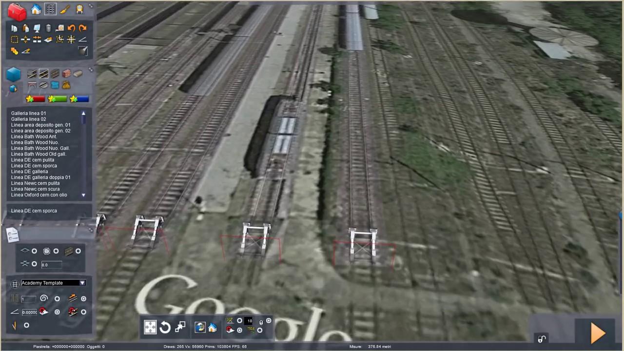 RailWorks Train Simulator Real Google Maps Part 1 - YouTube