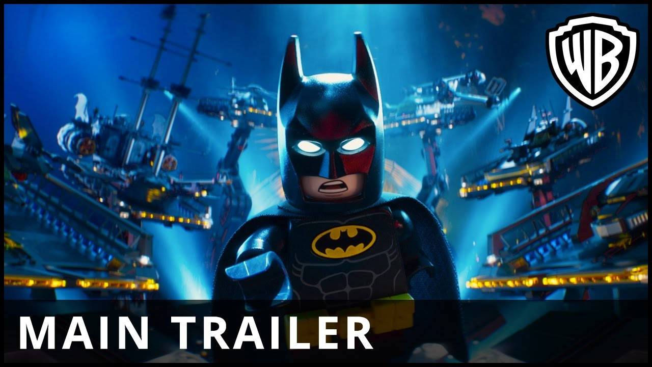 THE LEGO BATMAN MOVIE - Biopremiär 10 februari - Officiell HD Trailer 3