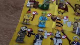 Лего  минифигурки  10 серия(, 2013-05-26T15:39:22.000Z)