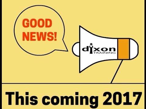Dixon Training 2017 - New training courses