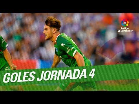 Todos Los Goles De La Jornada 04 De LaLiga Santander 2018/2019