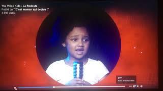 Kelssy The Voice Kids avec La Redoute «C'est quoi les paroles déjà» Jingle pub enfant mannequin