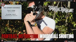 How To Shoot Your Paintball Gun: Woodsball Rec Ball by DangerMan