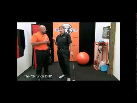 "Develop a Strong Impact Position with The ""Scrunch Drill"""