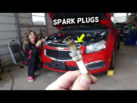 CHEVROLET CRUZE SPARK PLUGS REPLACEMENT. CHEVROLET SONIC SPARK PLUGS 1.8