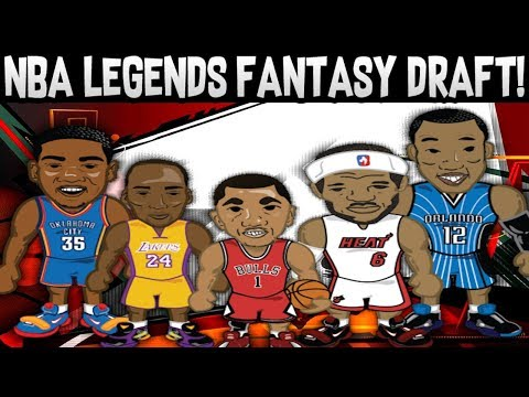 ALL NBA LEGEND FANTASY DRAFT CHALLENGE! BUILD YOUR BEST TEAM! NBA 2K18 MY LEAGUE