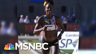 olympic-runner-sparks-protect-pregnant-athletes-pay-velshi-ruhle-msnbc