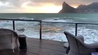 Rainfall in Cape Town