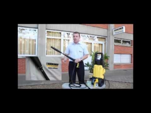 Karcher - Como Aplicar Detergente Com Sua Lavadora de Alta Pressão