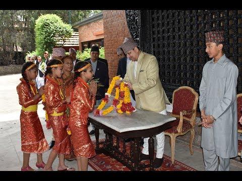 Ex Nepali King Gyanendra Shah 71th Birthday.पूर्व राजा ज्ञनेन्द्र शाहको जन्मजयन्ती ।
