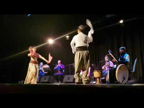 Kurdish Dance with armenian Song. Jale & Diyako Nahid