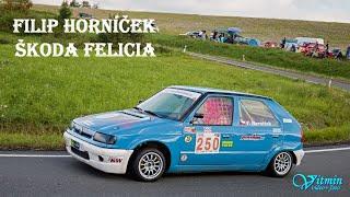 Filip Horníček - Škoda Felicia - I. GMS Albrechtický kopec 2020 - MREC
