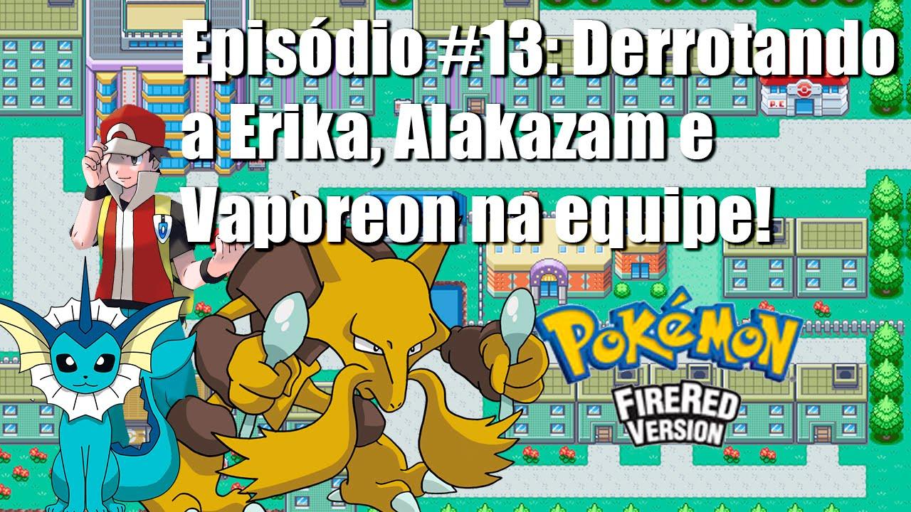 pokemon fire red how to get alakazam