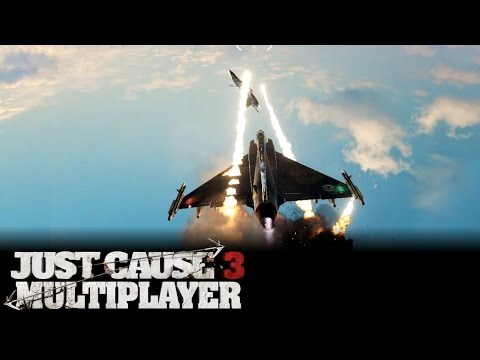 Just Cause 3 Multiplayer Dogfight Action
