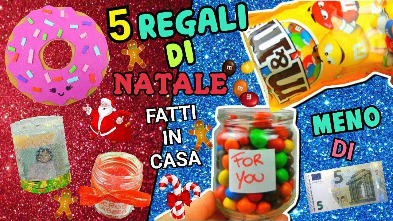 Idee Regalo Natale Da 5 Euro.5 Regali Di Natale Fatti In Casa Meno Di 5 Euro Easy Christmas