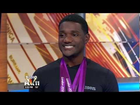 Olympic Sprinter Justin Gatlin stops by Studio 11