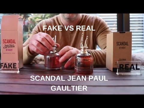 Fake Vs Real Scandal Jean Paul Gaultier Tester Perfume