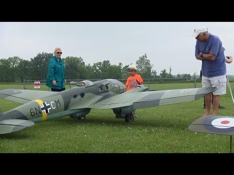 Heinkel He111 - 1/5 scale model