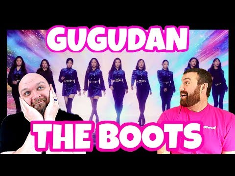 KPOP REACTION: GUGUDAN THE BOOTS (2018) I RUINED A PERFECTLY GOOD SHIRT!!!