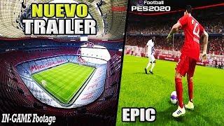 ¡¡OMG!! NUEVO TRAILER DE PES 2020!!
