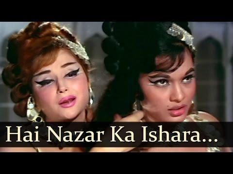 Hai Nazar Ka Ishara Sambhal Jaaiye - Madhumati - Bela Bose - Anita - Bollywood Item Songs